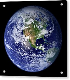Blue Marble Image Of Earth (2010) Acrylic Print