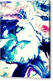 Blue Marble Acrylic Print