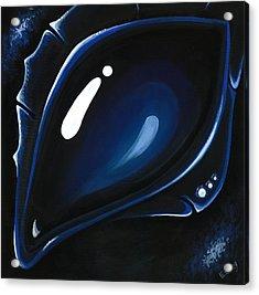 Blue Midnight Acrylic Print by Elaina  Wagner
