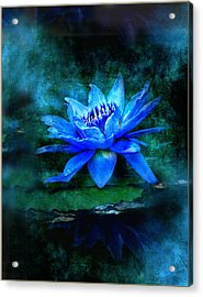 Blue Mist Acrylic Print