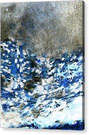 Blue Mold Acrylic Print