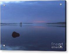 Blue Moment Acrylic Print by Veikko Suikkanen