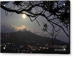 Blue Moon Over El Yunque Acrylic Print