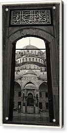 Blue Mosque Entrance Acrylic Print