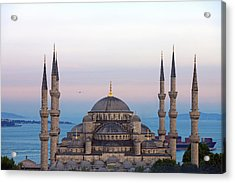 Blue Mosque, Sultan Ahmed, Istanbul Acrylic Print