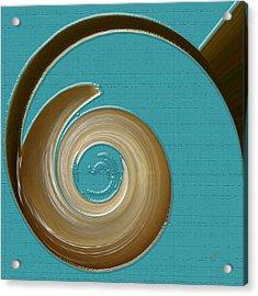 Blue Motion Acrylic Print by Ben and Raisa Gertsberg