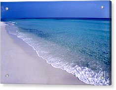Blue Mountain Beach Acrylic Print