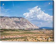 Acrylic Print featuring the photograph Blue Mountain Range by Jeanne May