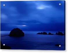 Acrylic Print featuring the photograph Blue Mystique by Ken Dietz