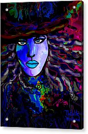 Blue Mystique Acrylic Print by Natalie Holland