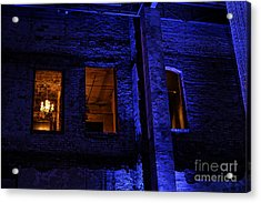 Blue Night Acrylic Print by Kate Purdy