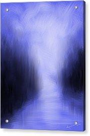 Blue Night Acrylic Print by Kume Bryant