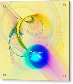 Blue Note Acrylic Print by Anastasiya Malakhova