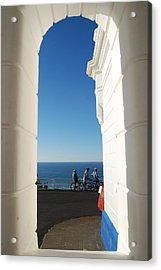 Blue Opening Byron Bay Lighthouse Acrylic Print