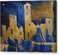 Blue Palace Acrylic Print