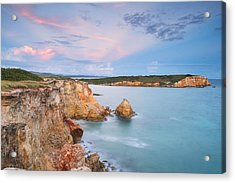 Blue Paradise Acrylic Print by Photography  By Sai