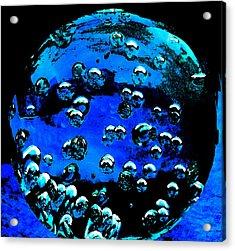 Blue Planet  Acrylic Print by Colette V Hera  Guggenheim