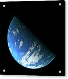 Blue Planet1 Acrylic Print