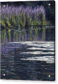 Blue Pond Acrylic Print