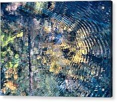 Blue Pool II Acrylic Print