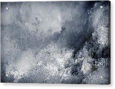 Blue Poseidon Acrylic Print by Lincoln Rogers