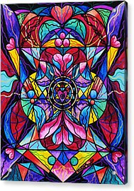 Blue Ray Healing Acrylic Print