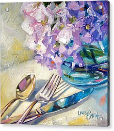 Blue Reflections Acrylic Print