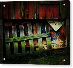 Blue Ribbon Landscape Acrylic Print