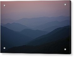 Blue Ridge Beauty Acrylic Print by Tammy Schneider
