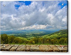 Blue Ridge Bounty Acrylic Print