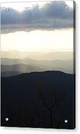 Blue Ridge Mist 2 Acrylic Print by Teresa Tilley