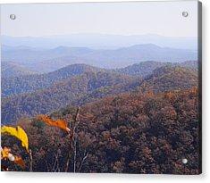Blue Ridge Parkway Horizon Acrylic Print