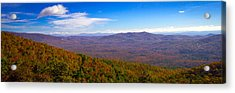 Blue Ridge Parkway Acrylic Print by Marion Johnson