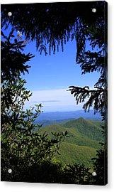 Blue Ridge Parkway Norh Carolina Acrylic Print