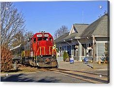 Blue Ridge Scenic Railway Acrylic Print