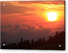 Blue Ridge Sunrise Great Balsam Mountains Acrylic Print