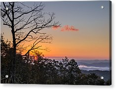 Acrylic Print featuring the photograph Blue Ridge Sunrise by Gregg Southard