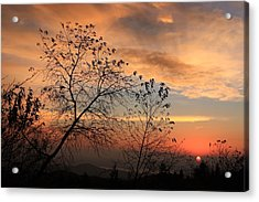 Blue Ridge Sunrise Acrylic Print by Mountains to the Sea Photo