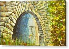 Blue Ridge Tunnel Acrylic Print