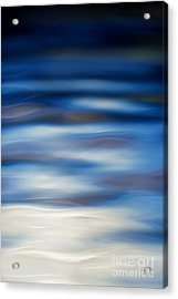 Blue Ripple Acrylic Print by Tim Gainey