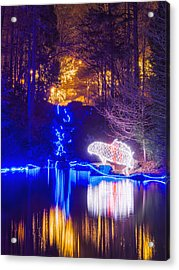 Blue River - Crop Acrylic Print