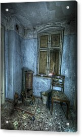 Blue Room Acrylic Print by Nathan Wright