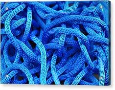 Blue Rope Acrylic Print