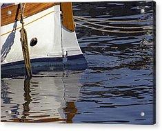 Blue Rudder Acrylic Print