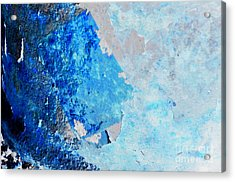 Acrylic Print featuring the photograph Blue Rust by Randi Grace Nilsberg