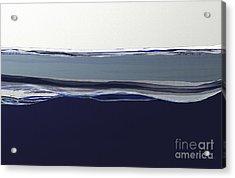Blue Seas Acrylic Print by Shesh Tantry