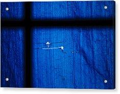 Blue Shade Acrylic Print by Christi Kraft
