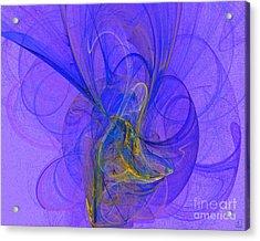 Blue Shell 2 Acrylic Print