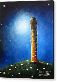 Blue Skies Ahead By Shawna Erback Acrylic Print by Erback Art