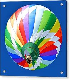 Blue Sky Balloon Acrylic Print by Stephen Richards